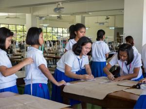 Meisjes in de Filipijnen
