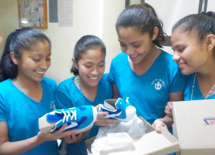 Nieuwe schoenen Mexico